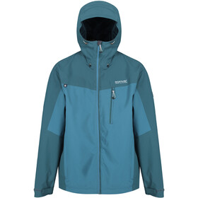 Regatta Birchdale Veste Shell Imperméable Homme, olympic teal/gulfstream